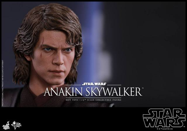 Hot Toys Revenge of the Sith Anakin Skywalker - face close up