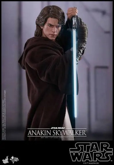 Hot Toys Revenge of the Sith Anakin Skywalker - saber pose