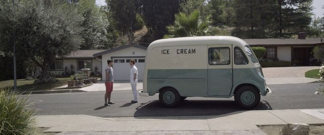 Ice Cream Truck movie review - the ice cream truck driver