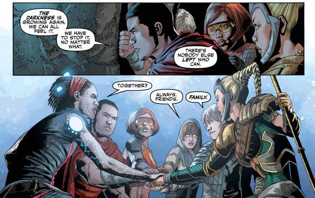 Justice League #26 interior art