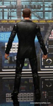 Marvel Legends Avengers Initative figure review -Agent Coulson rear