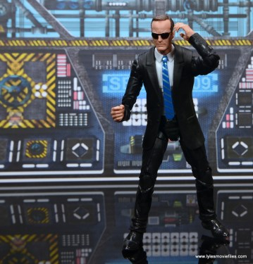 Marvel Legends Avengers Initative figure review -Coulson with sunglasses