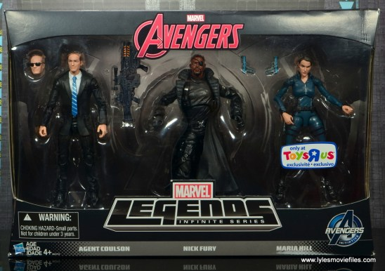 Marvel Legends Avengers Initative figure review -package front