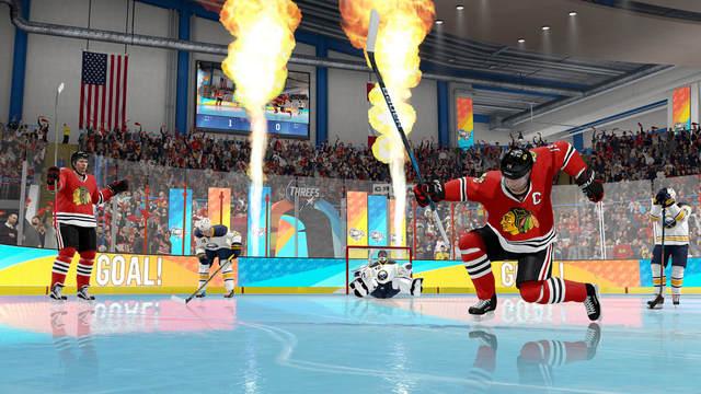 NHL Threes Blackhawks vs Sabres