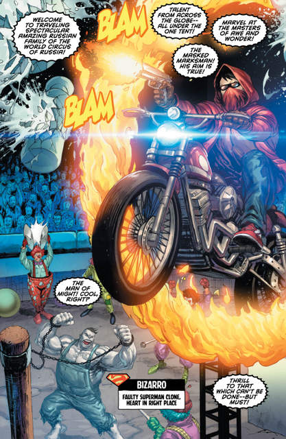 Red Hood and the Outlaws Annual #1 interior art