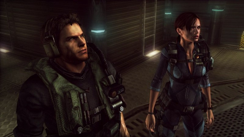 Resident_Evil_Revelations_XB1_PS4_- Chris Redfield and Jill Valentine