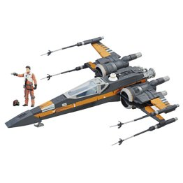 STAR WARS FORCE LINK 3.75-INCH BOOSTED X-WING & FIGURE
