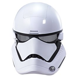 STAR WARS THE LAST JEDI FIRST ORDER STORMTROOPER VOICE CHANGER MASK