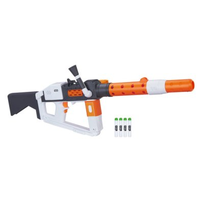 STAR WARS THE LAST JEDI NERF GLOWSTRIKE FIRST ORDER STORMTROOPER DELUXE Blaster