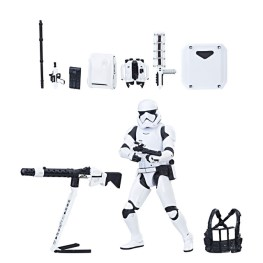 STAR WARS The Black Series 6-Inch First Order Stormtrooper with Gear Figure - oop