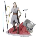 Star Wars The Black Series 6-Inch Rey on Crait