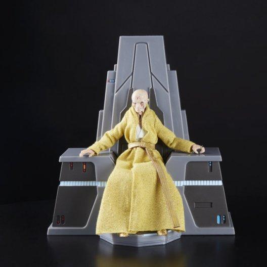 Star Wars The Black Series 6-Inch Supreme Leader Snoke Figure and Throne - oop