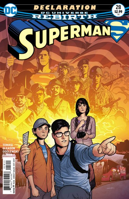 Superman #28 cover