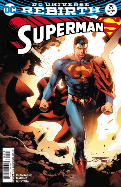 Superman #29 variant cover
