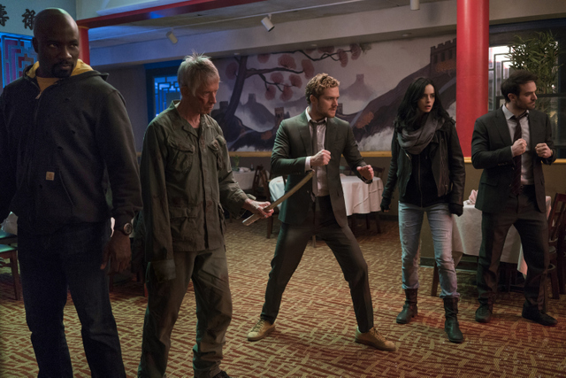 The Defenders - Royal Dragon review - Luke Cage, Stick, Iron Fist, Jessica Jones and Daredevil