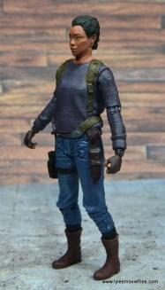 The Walking Dead Sasha figure review -left side