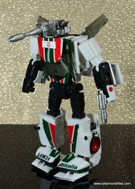 Transformers Masterpiece Wheeljack figure review - bot mode left side
