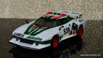 Transformers Masterpiece Wheeljack figure review -left side vehicle mode