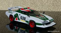 Transformers Masterpiece Wheeljack figure review -right side vehicle mode