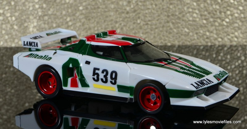 Transformers Masterpiece Wheeljack figure review -vehicle right side