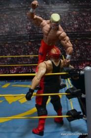 WWE Basic Surfer Sting figure review - corner punch