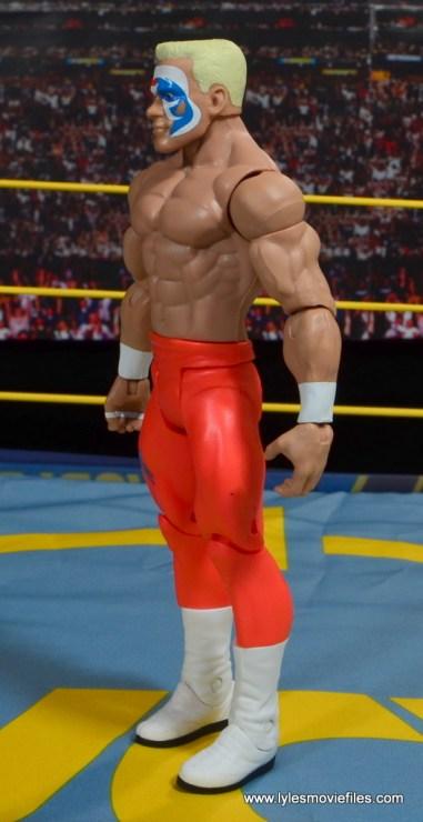 WWE Basic Surfer Sting figure review -left side