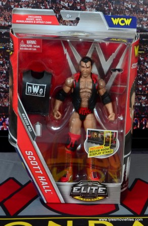 WWE Elite 51 Scott Hall figure review -package front
