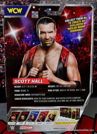 WWE Elite 51 Scott Hall figure review -package rear