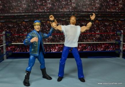 WWE Elite Isaac Yankem figure review -Jerry Lawler raising his hand
