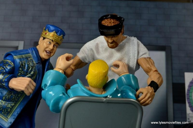 WWE Elite Isaac Yankem figure review -dental work with Jerry Lawler