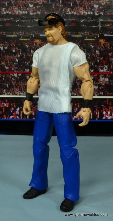 WWE Elite Isaac Yankem figure review -left side