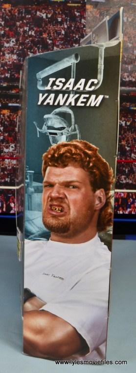 WWE Elite Isaac Yankem figure review -package side