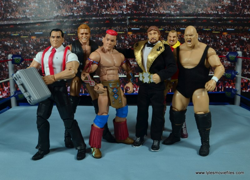 WWE Elite Tatanka figure review - Million Dollar Corporation