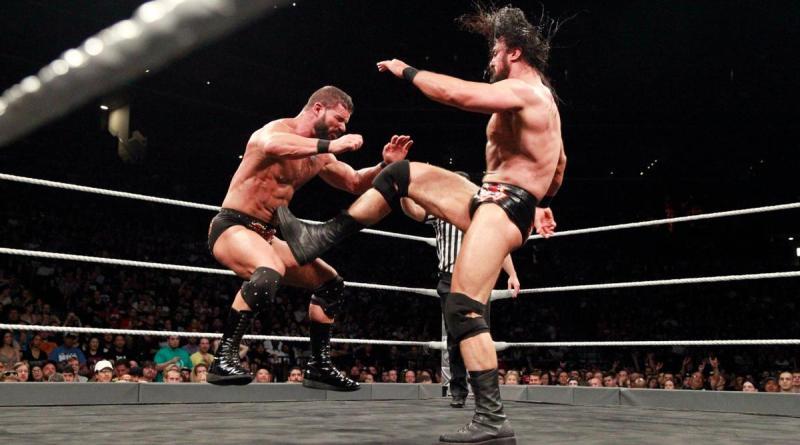 WWE NXT TakeOver Brooklyn III - Bobby Roode vs Drew McIntyre