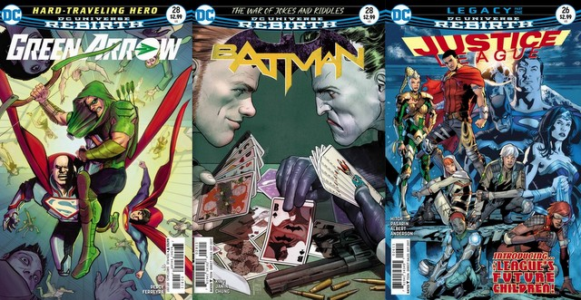 DC Comics reviews for 8/2/17