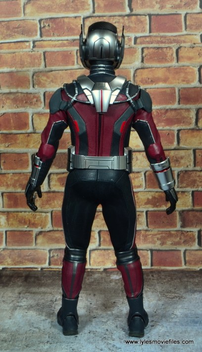hot toys captain america civil war ant-man figure review -rear