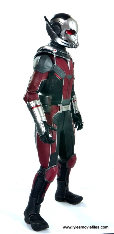 hot toys captain america civil war ant-man figure review -right side view