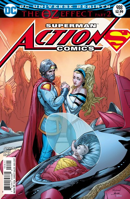 Action Comics #988 cover