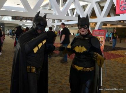 Baltimore Comic Con 2017 cosplay - Batman and Batgirl