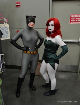 Baltimore Comic Con 2017 - cosplay - Catwoman and Poison Ivy