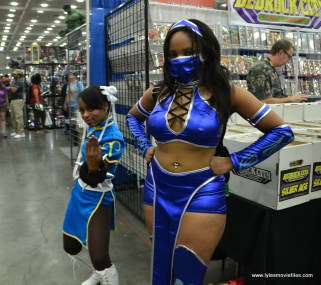 Baltimore Comic Con 2017 cosplay - Chun-Li and Kitana