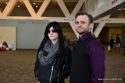 Baltimore Comic Con 2017 cosplay - Jessica Jones and Kilgrave