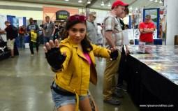 Baltimore Comic Con 2017 cosplay - Jubilee posing