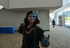 Baltimore Comic Con 2017 cosplay - Loki transformed