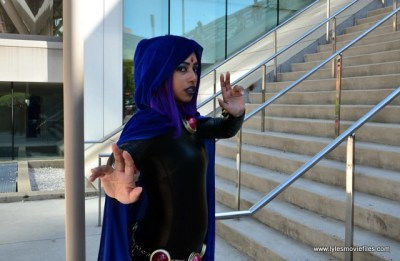 Baltimore Comic Con 2017 cosplay - Raven 1