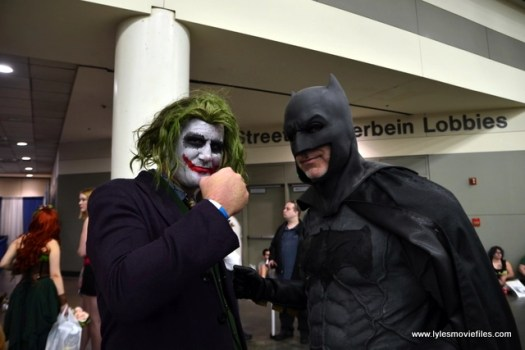 Baltimore Comic Con 2017 cosplay - The Joker and Batman