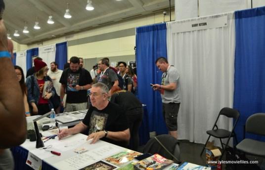 Baltimore Comic Con 2017 - creators showcase - Barry Kitson