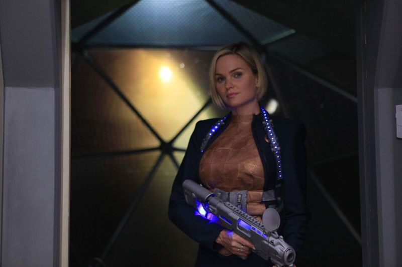 Beyond the Trek review - Sunny Maybrey as Iris Duncan