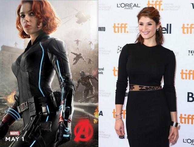 Black Widow - Gemma Arterton for Scarlett Johansson