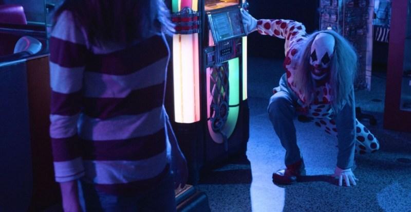 Clowntergeist movie review - Ribcage stalks Emma